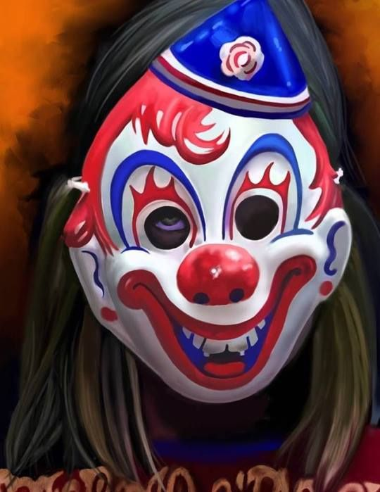 Rob Zombie Halloween Clown Mask.Horror Movie Art Rob Zombie S Halloween 2007 Young