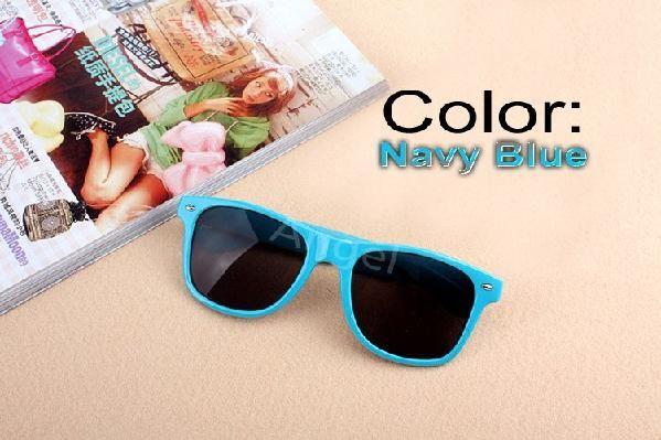 Navy Blue Stylish Fashion Glasses