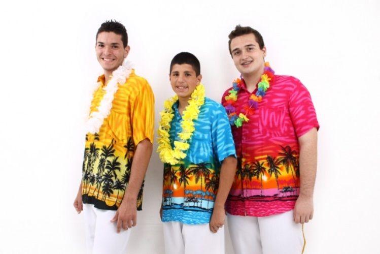 Vestido para festa havaiana