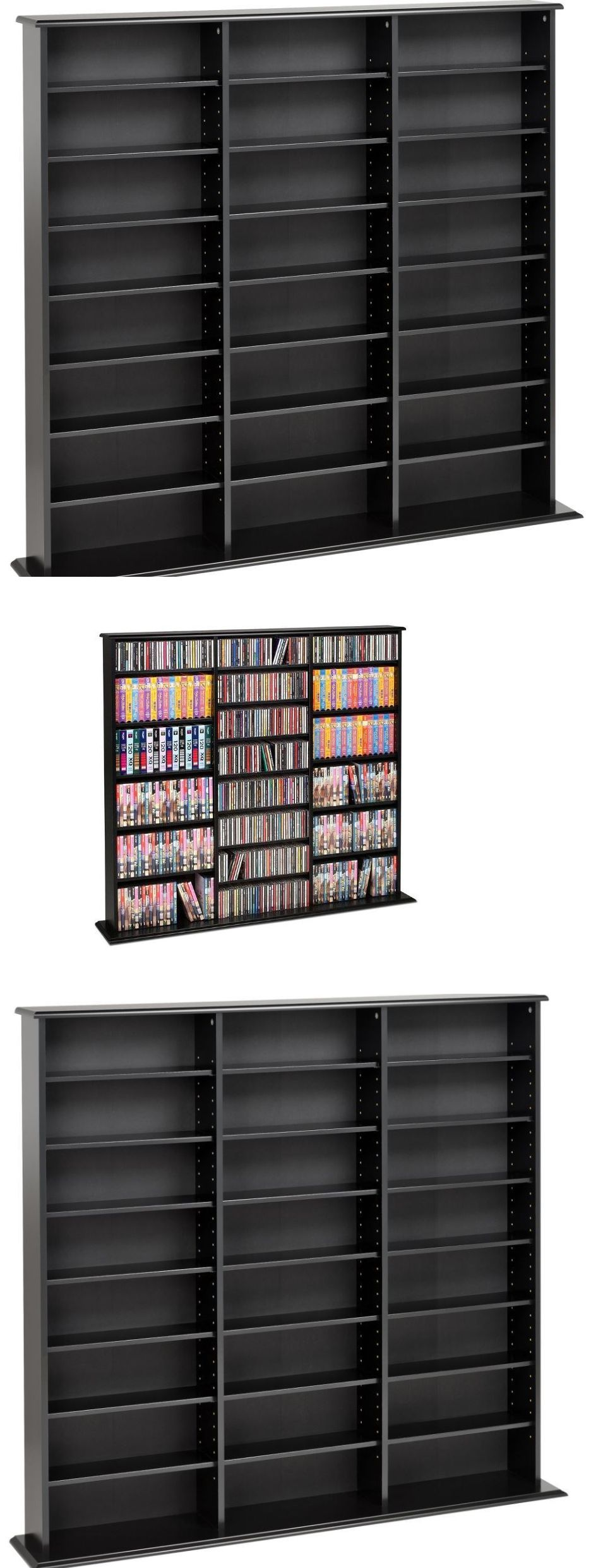 s shelf framed heal and cd white seletti drawers pin storage dvd office