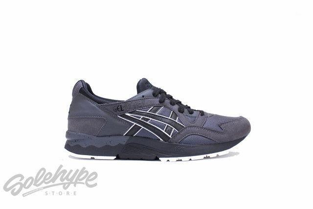 ASICS GEL LYTE V 5 DARK GREY BLACK HN6A4 1690 | Sneakers