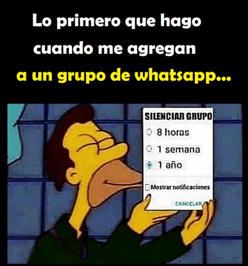 Cuando Me Agregan A Un Grupo De Whatsapp Https Www Yoalucino Com De Todo Un Poco Cuando Me Agregan A Memes Para Reir Imagenes De Risa Memes Imagenes De Broma