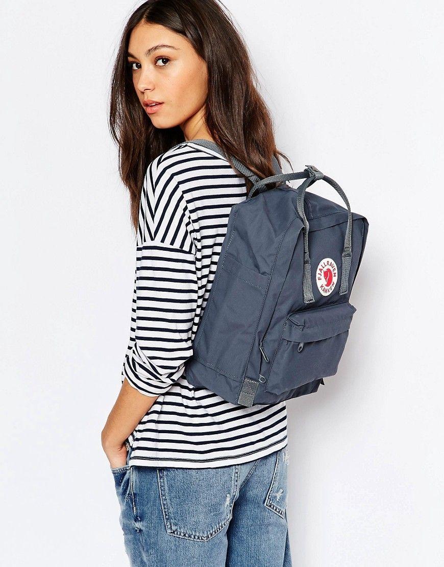 innovatives Design Online-Einzelhändler neuer & gebrauchter designer Fjallraven Classic Kanken Backpack in Graphite | Things I ...