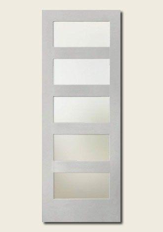 White Shaker 5 Panel Interior Door Glass Google Search Doors Interior Doors Paneling