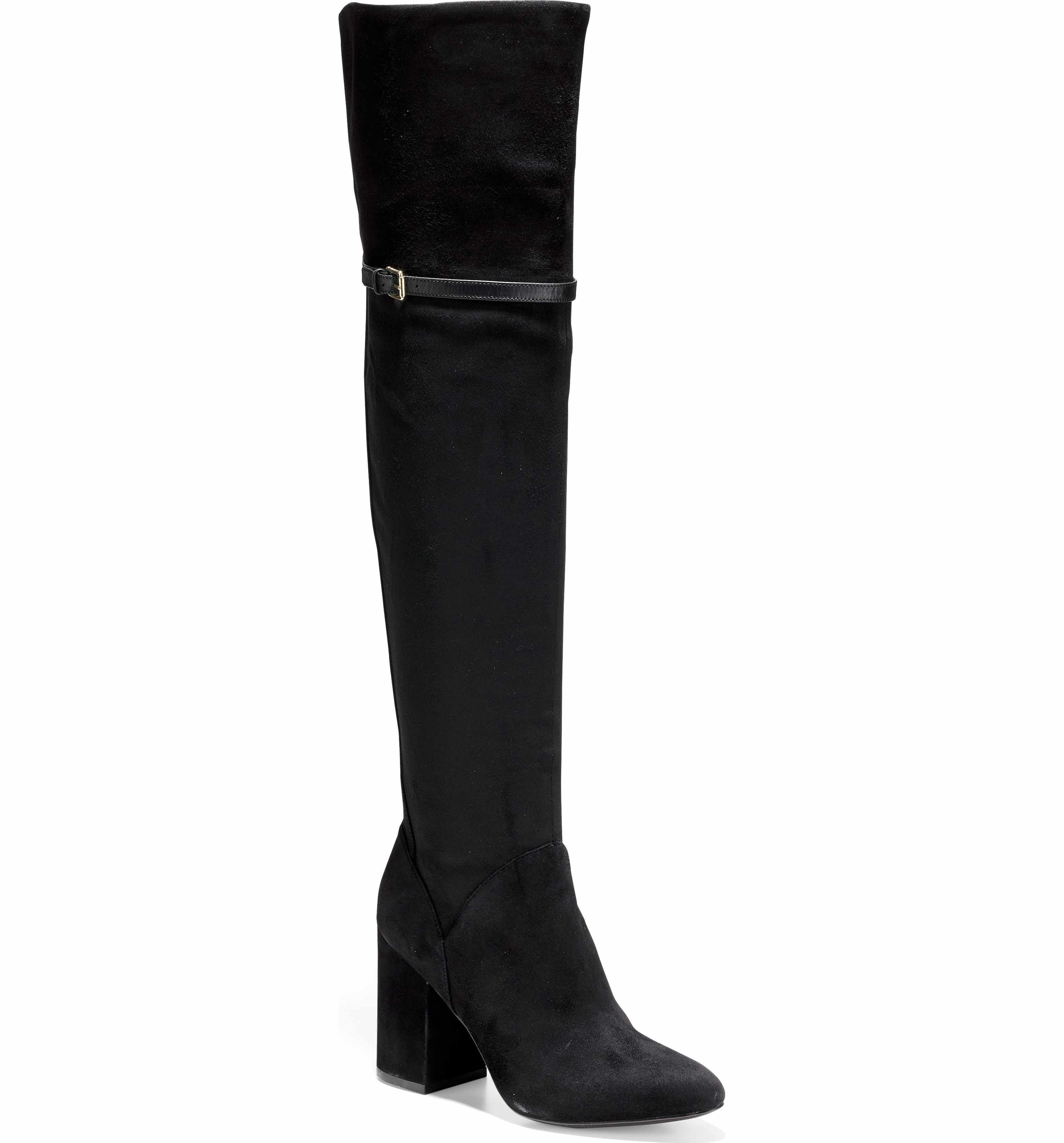 c1cc260717d High Heel. Main Image - Cole Haan Darcia Over the Knee Boot (Women) Soft  Suede