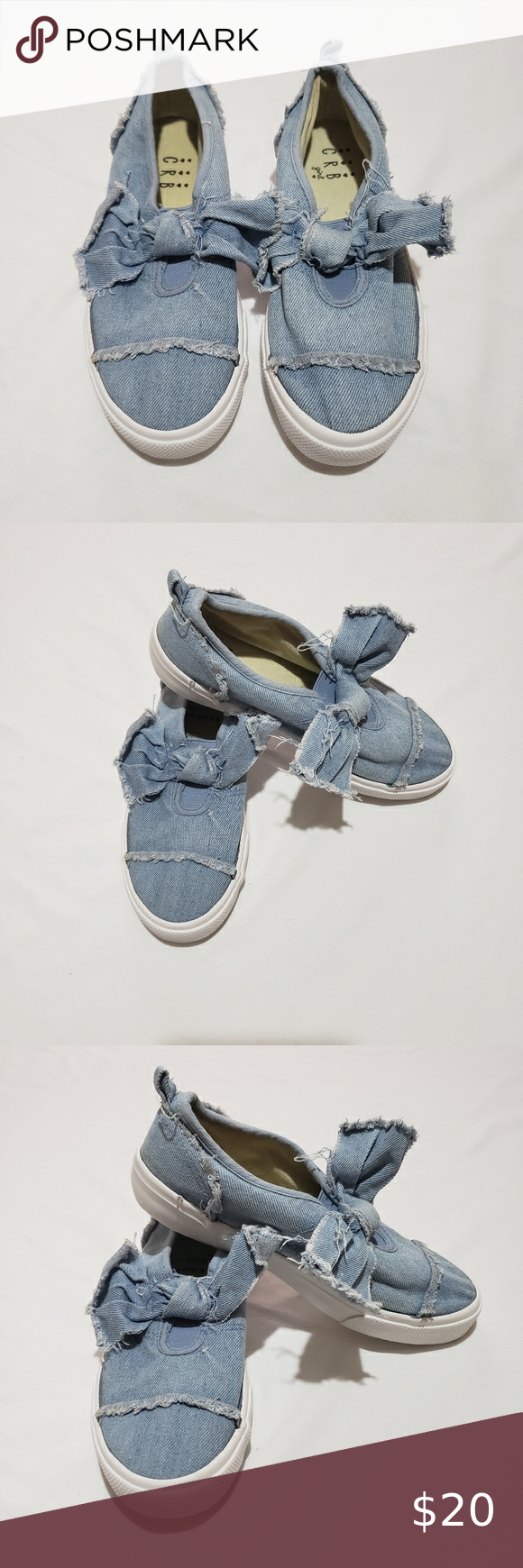 CRB Girl Slipons in 2020 | Blue shoes