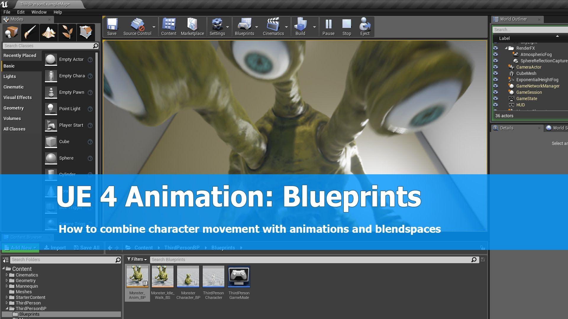 Ue4 tutorial animation blueprints ue4 tutorials pinterest ue4 tutorial animation blueprints malvernweather Choice Image