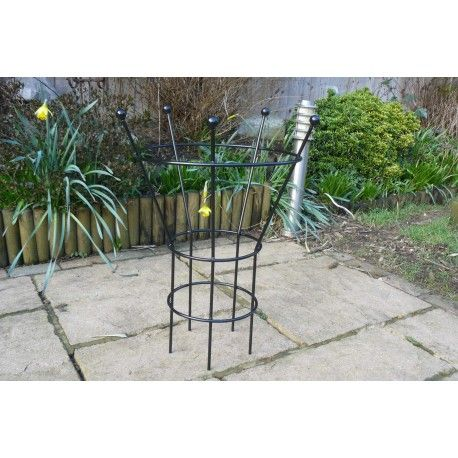 Peony Plant Support 8mm Wrought Iron Heavy Duty Garden Plant