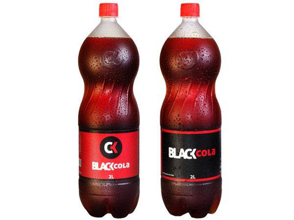 Packaging of the World: Creative Package Design Archive and Gallery: Black Cola
