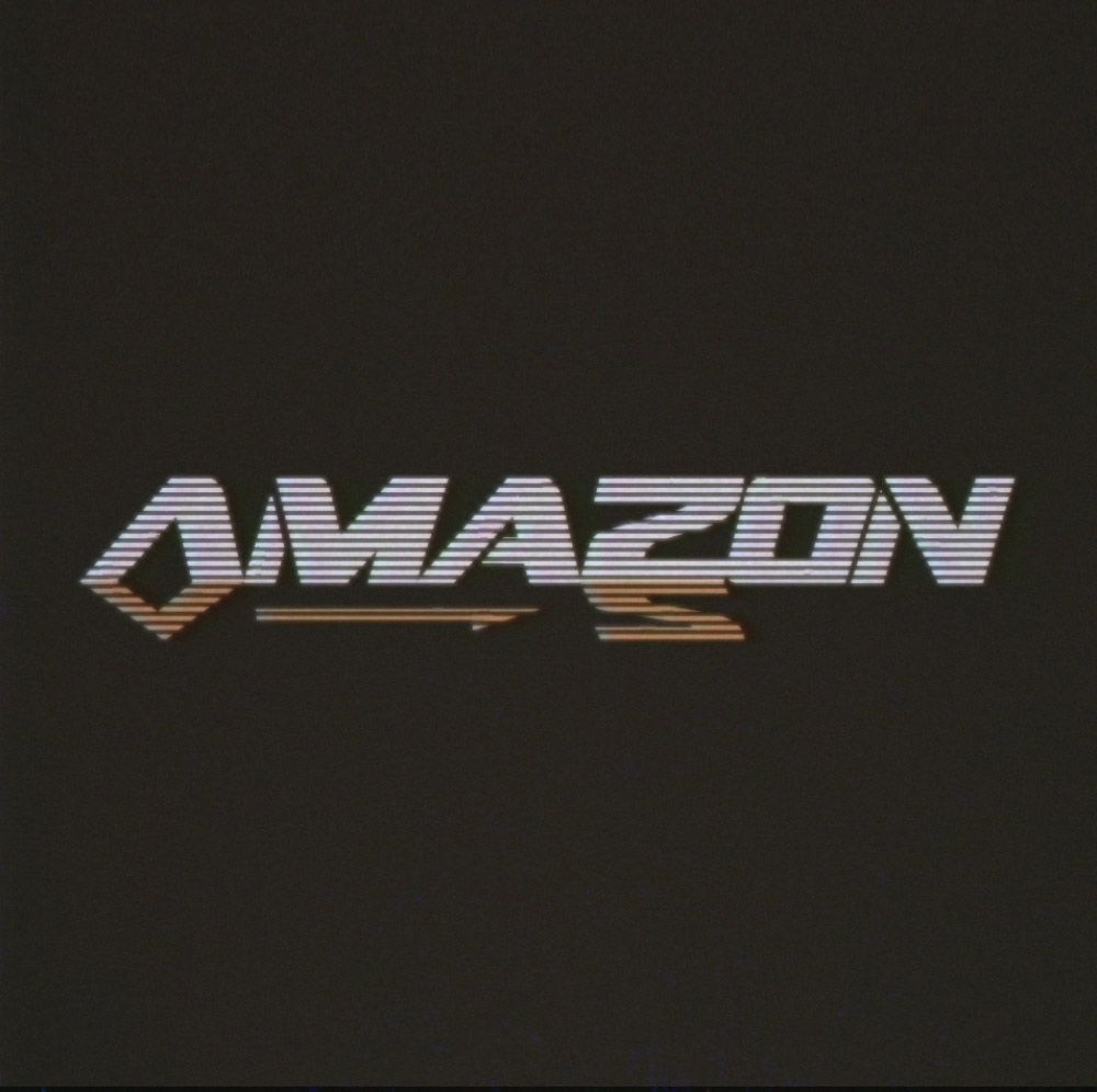 f2749309f1fa2 amazon-logo-retro-design | Graphic Icon | Retro logos, 80s logo ...