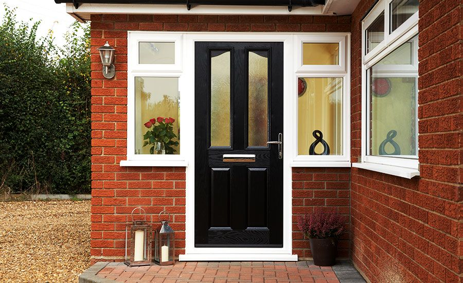 Anglian Ely GRP Door & Anglian Ely GRP Door | Front Doors | Pinterest | Ely Doors and ...