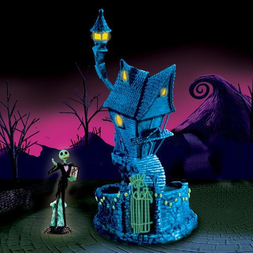 Nightmare Before Christmas Halloweentown Village