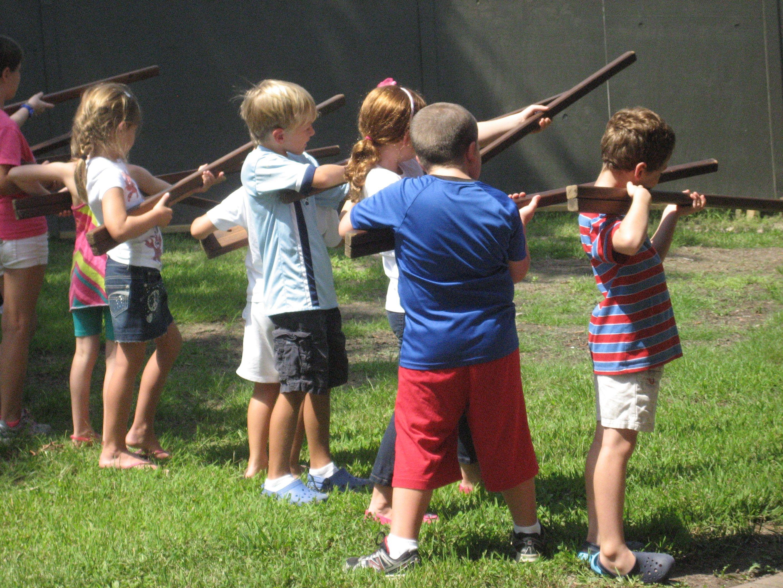 Aim Ready Re Kids Practice Being Revolutionary War