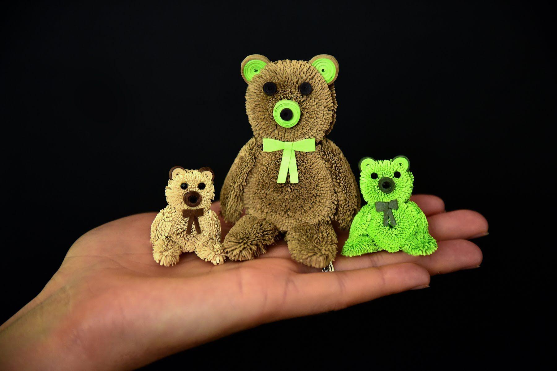 Quilling Teddy Bear Tutorial