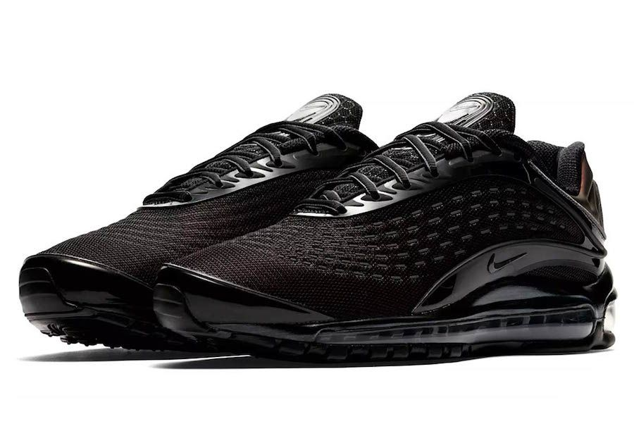 The Nike Air Max Deluxe Black Dark Grey Style Code Av2589 001 Comes Dressed In Black Dark Grey With A Rele Nike Shoes Air Max Nike Air Max Nike Air Max Mens