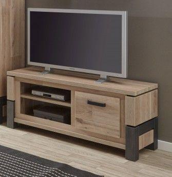 meuble tv contemporain 130 cm coloris