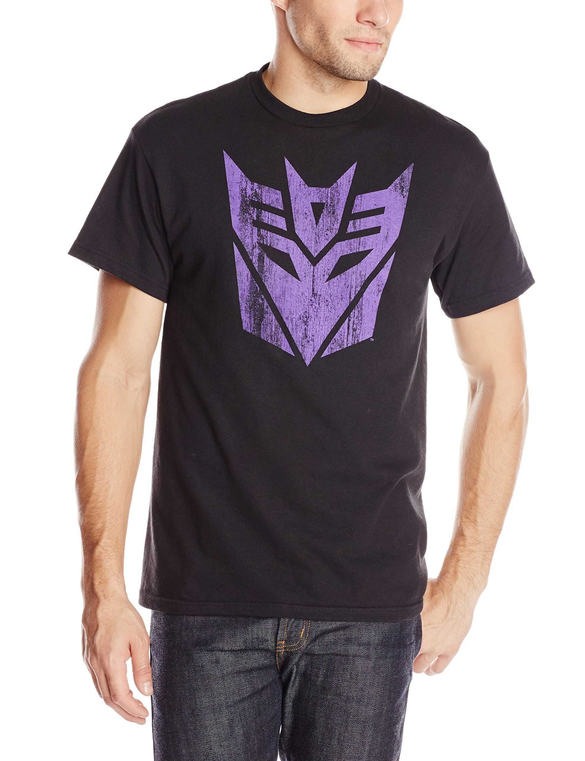 Transformers T-Shirt Decepticon Logo Black Tee