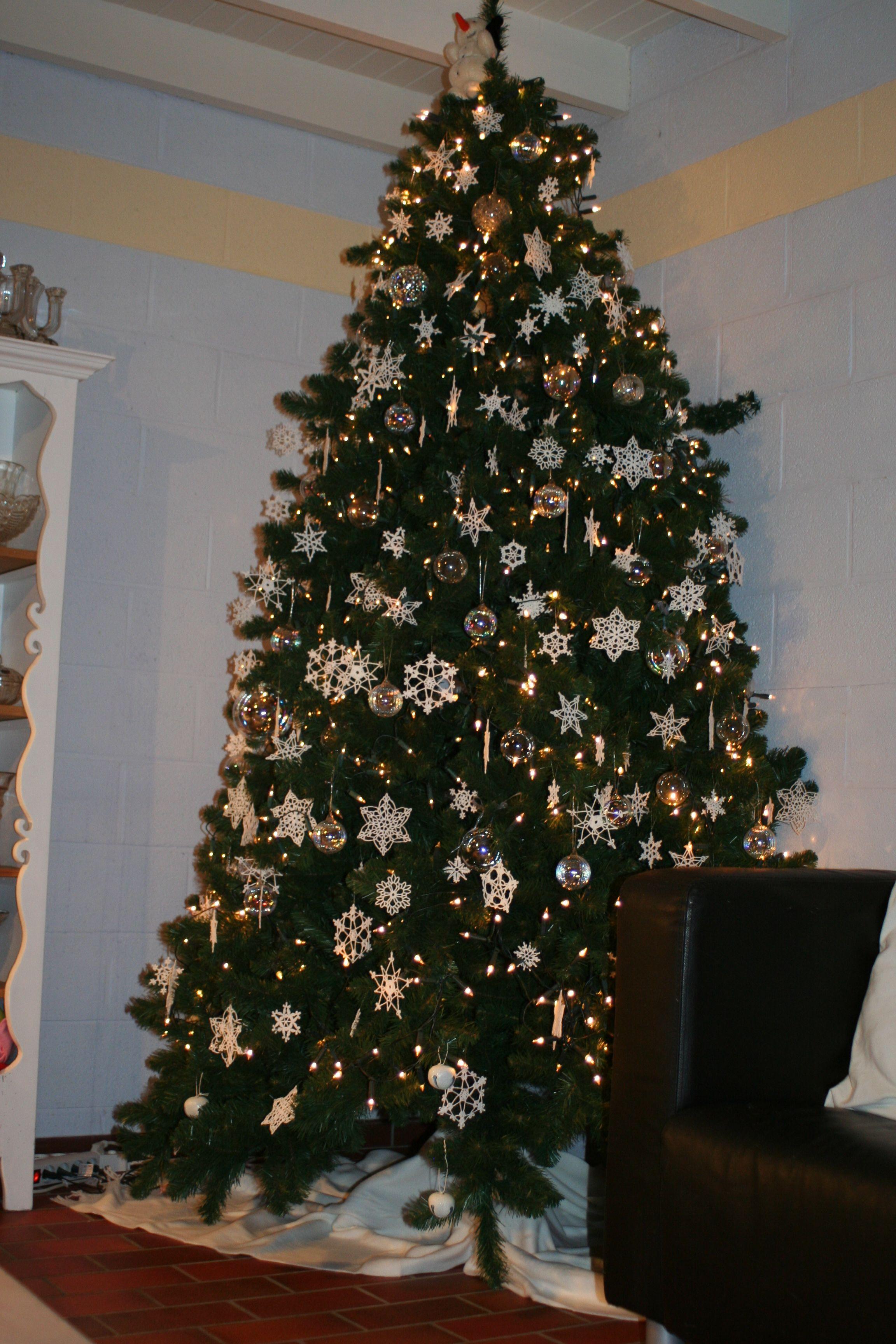 Snowflake Christmas Tree Christmas Tree Ideaschristmas