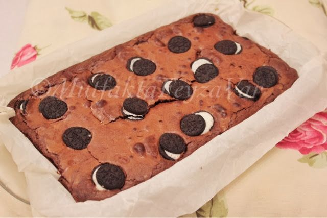 mutfakta Feyza var: Oreolu Brownie