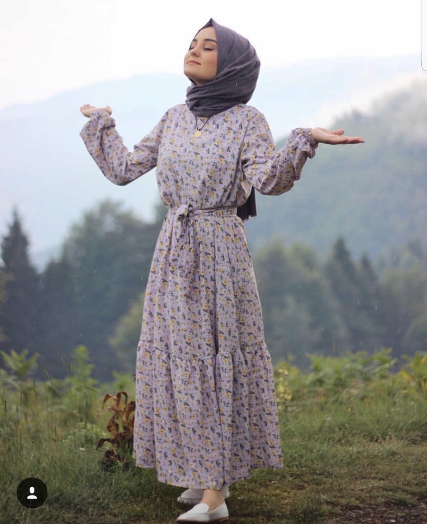 Modest Maxi Dresses With Sleeves #modestfashion