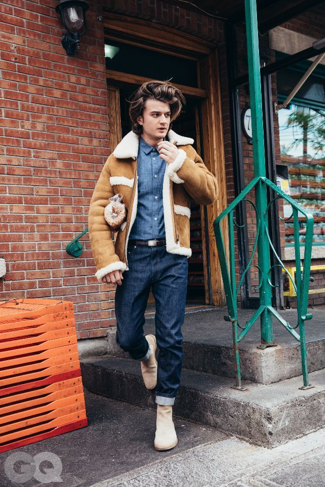 Stranger Things star Joe Keery recently did a photo shoot with GQ featuring fall looks even we want...