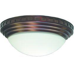 Overstock.com Decorative Dome Antique Brass 100 CFM Bath ...