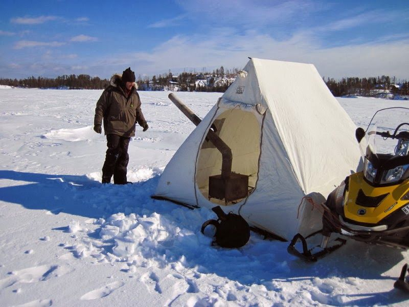Ashbee Design Extreme Bunk Beds Thinking Outside The Box: Think Outside The Shack: Designing A Homemade Ice-Fishing