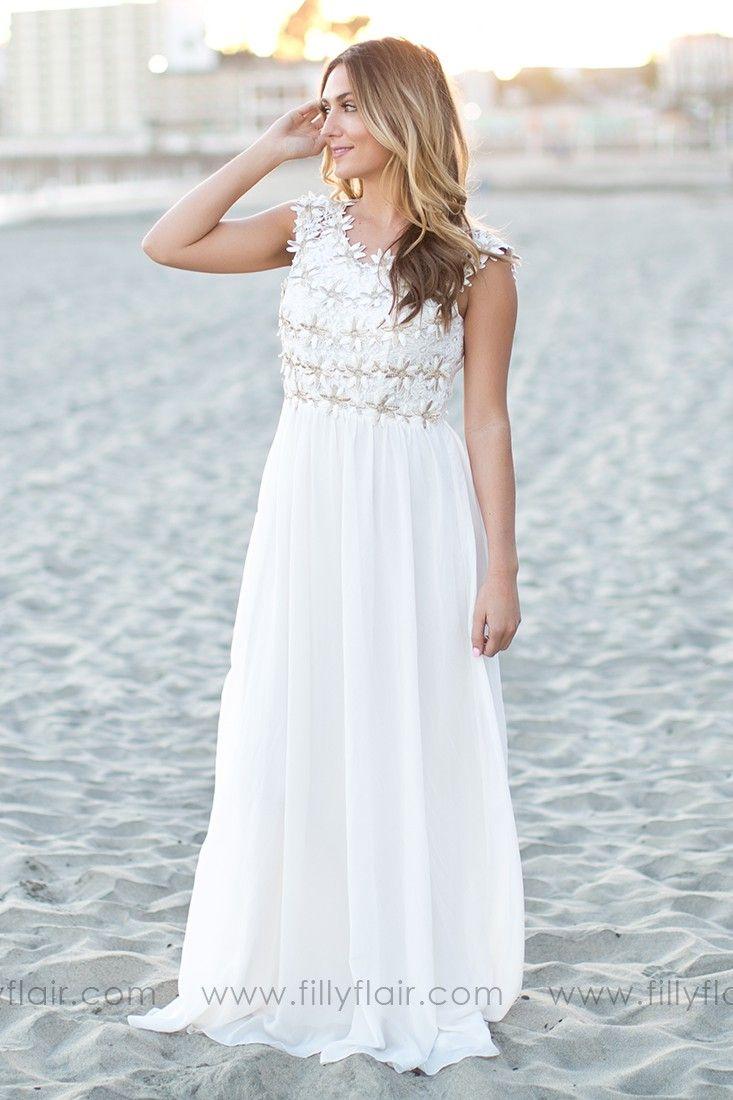 Island in the Sun Crochet Dress