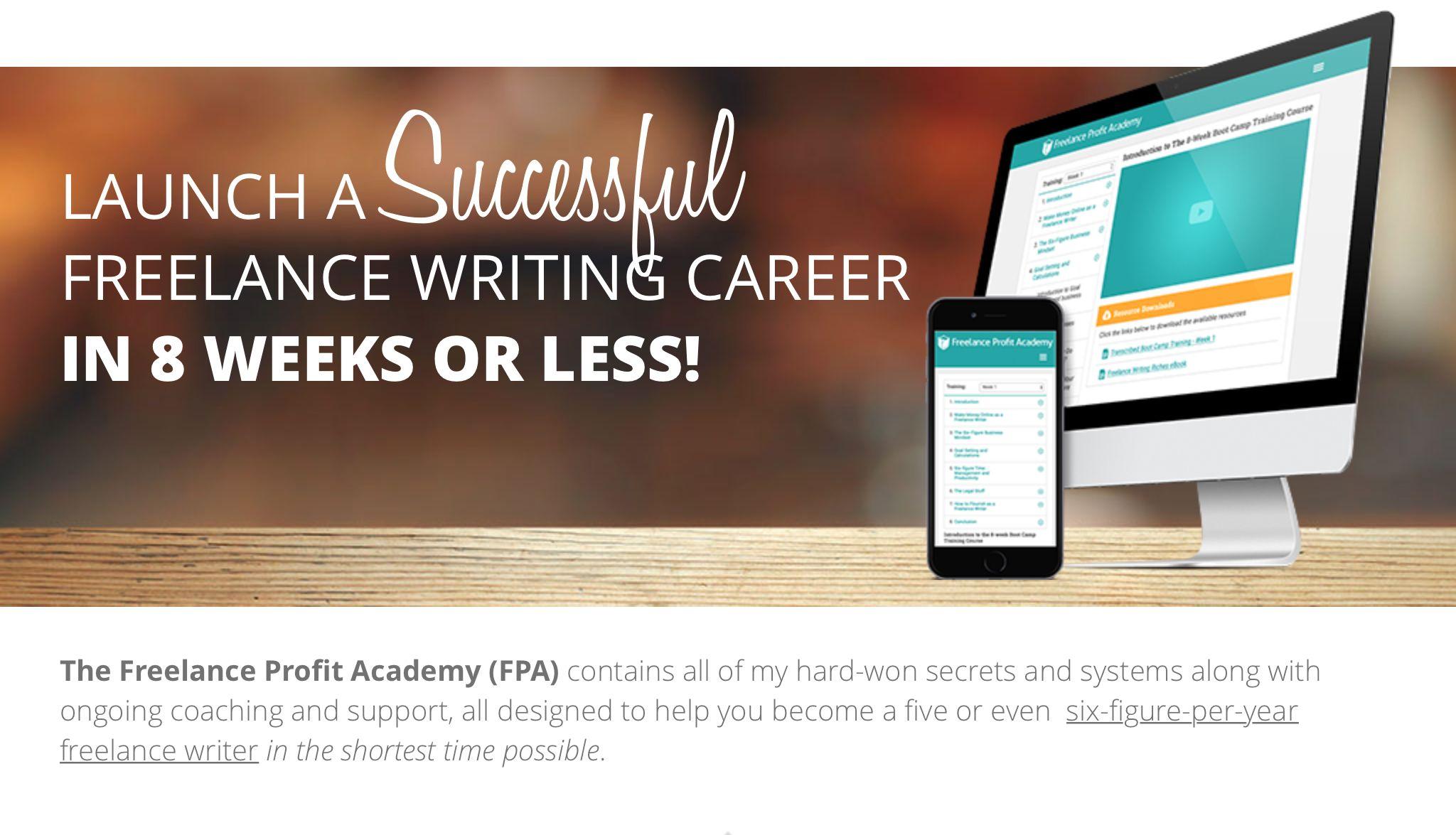 Freelance Profit Academy Freelance Writing Jobs Freelance Writing Writing Jobs