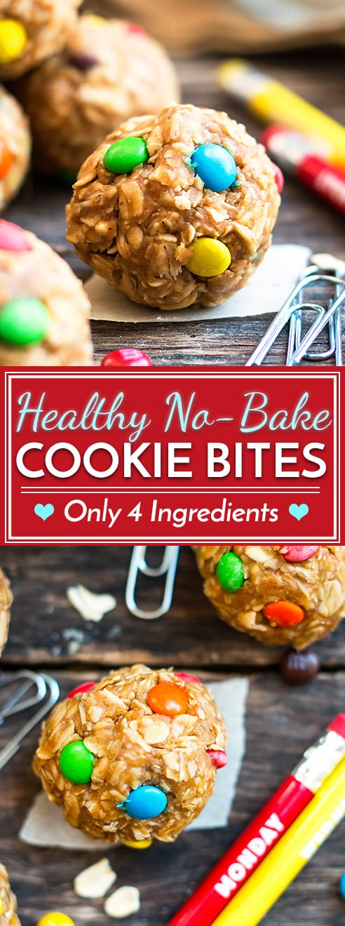 Healthy Monster Cookie Bites