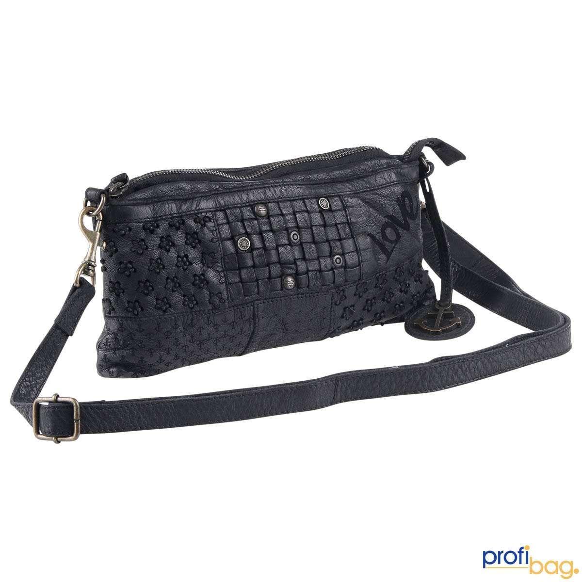 Harbour 2nd Handtasche Poppy Love Clutch Handtaschen Reissverschlusstasche Clutch