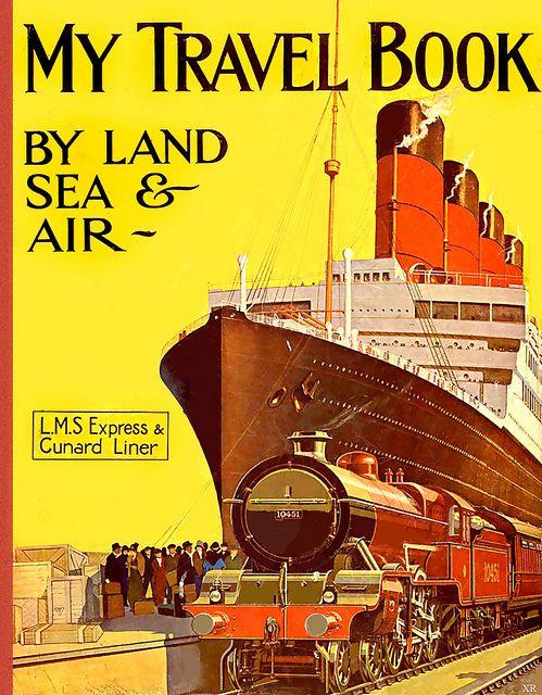 Of vintage trains, plains and boats! #vintage #travel #ocean_liner