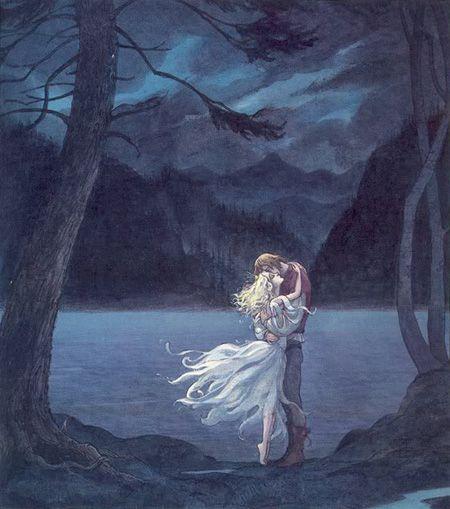 """Swan Lake"" by Trina Schart Hyman"