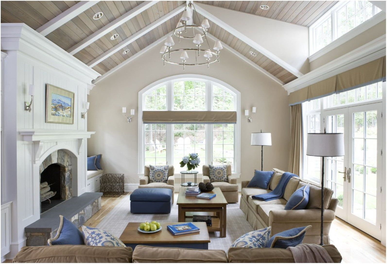 Living Room Paint Ideas For Small Spaces Vaulted Ceiling Living Room Living Room Ceiling Great Rooms