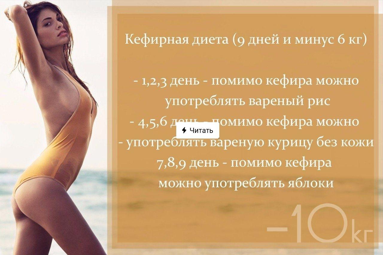 Кефирная Диета 10.