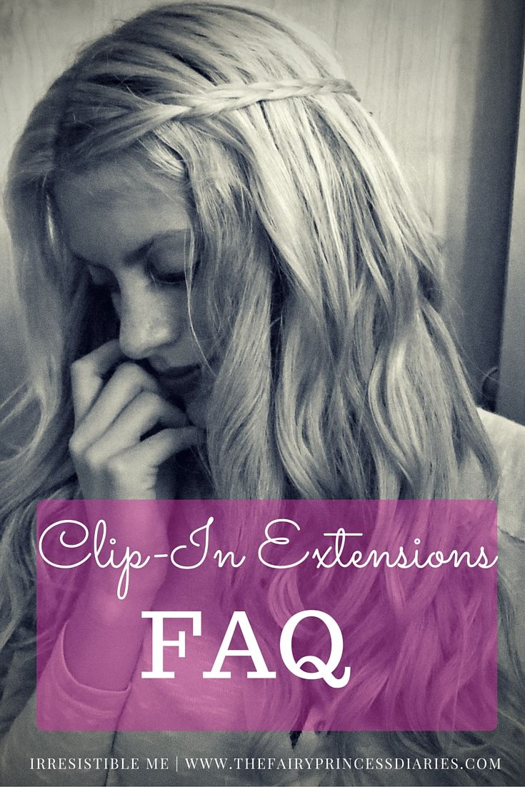 Frequently asked questions about clipin hair extensions