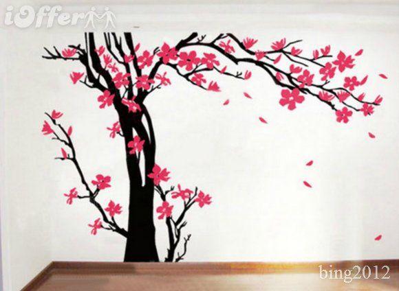 Wall Decals Nursery Cherry Blossom Tree Vinyl Decor Maybe Baby - Custom vinyl wall decals cherry blossom tree