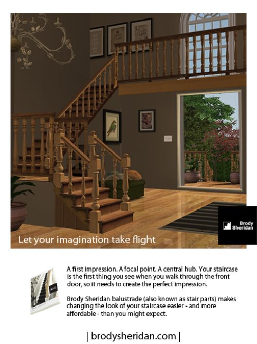 """advertisement"""" from """"living sims"""" online magazine. would have looked"""