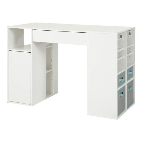 Harriett Counter Height Craft Table Craft Tables With Storage Craft Table Sewing Machine Tables