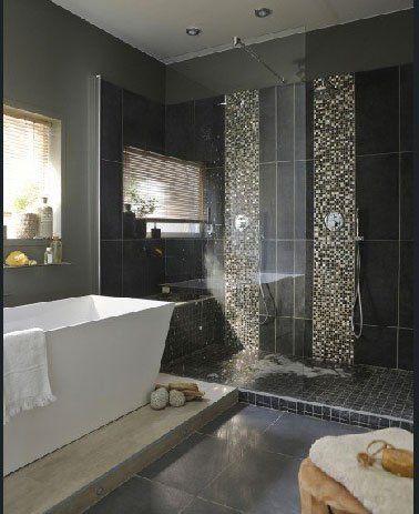 Douche italienne  28 modèles et conseils du0027installation Interiors - salle de bains douche italienne