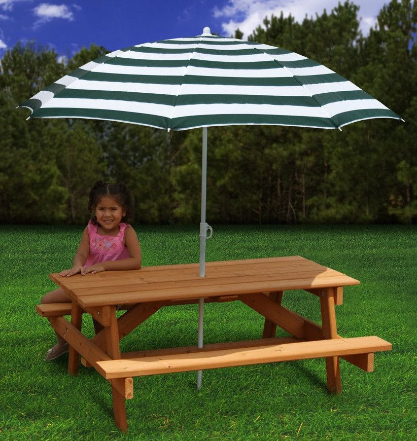 Gorilla Playsets Childrens Picnic Table Kids Picnic Table