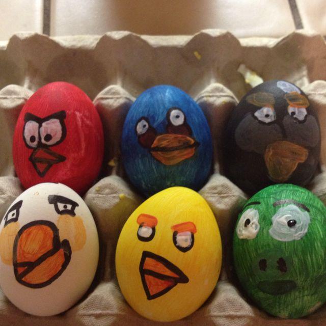 My angry bird eggs