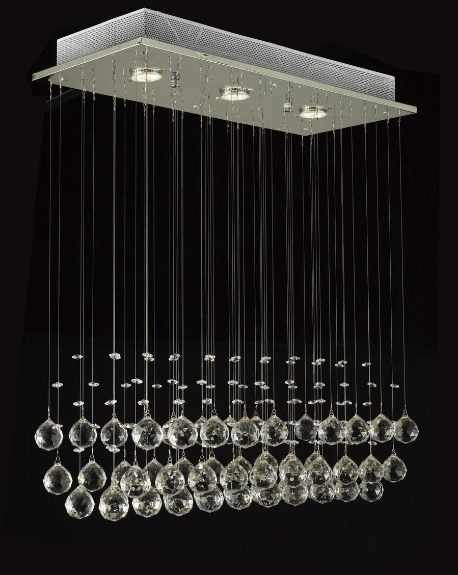 J10 c9074 339 gallery modern contemporary raindrop crystal modern chandelier rain drop lighting crystal ball fixture pendant ceiling lamp x x depth 3 lights arubaitofo Image collections