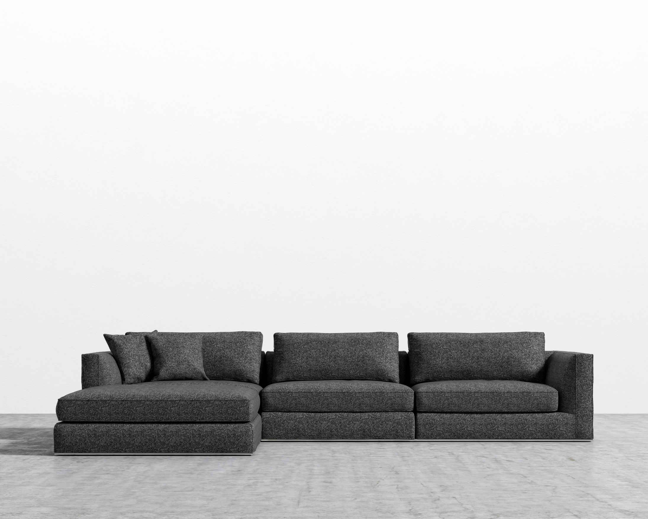 Milo Modular Sectional Modular Sectional Sectional Living Room Design Small Spaces