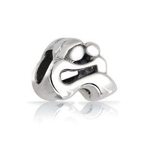 925 Sterling Silver Mother Baby Love Child Family Bead For European Charm Bracelets zRTZvhW1f5