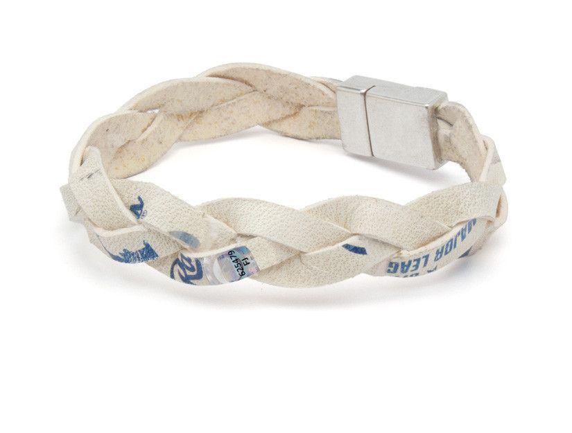 Chicago Cubs Game Used Baseball Leather Bracelet
