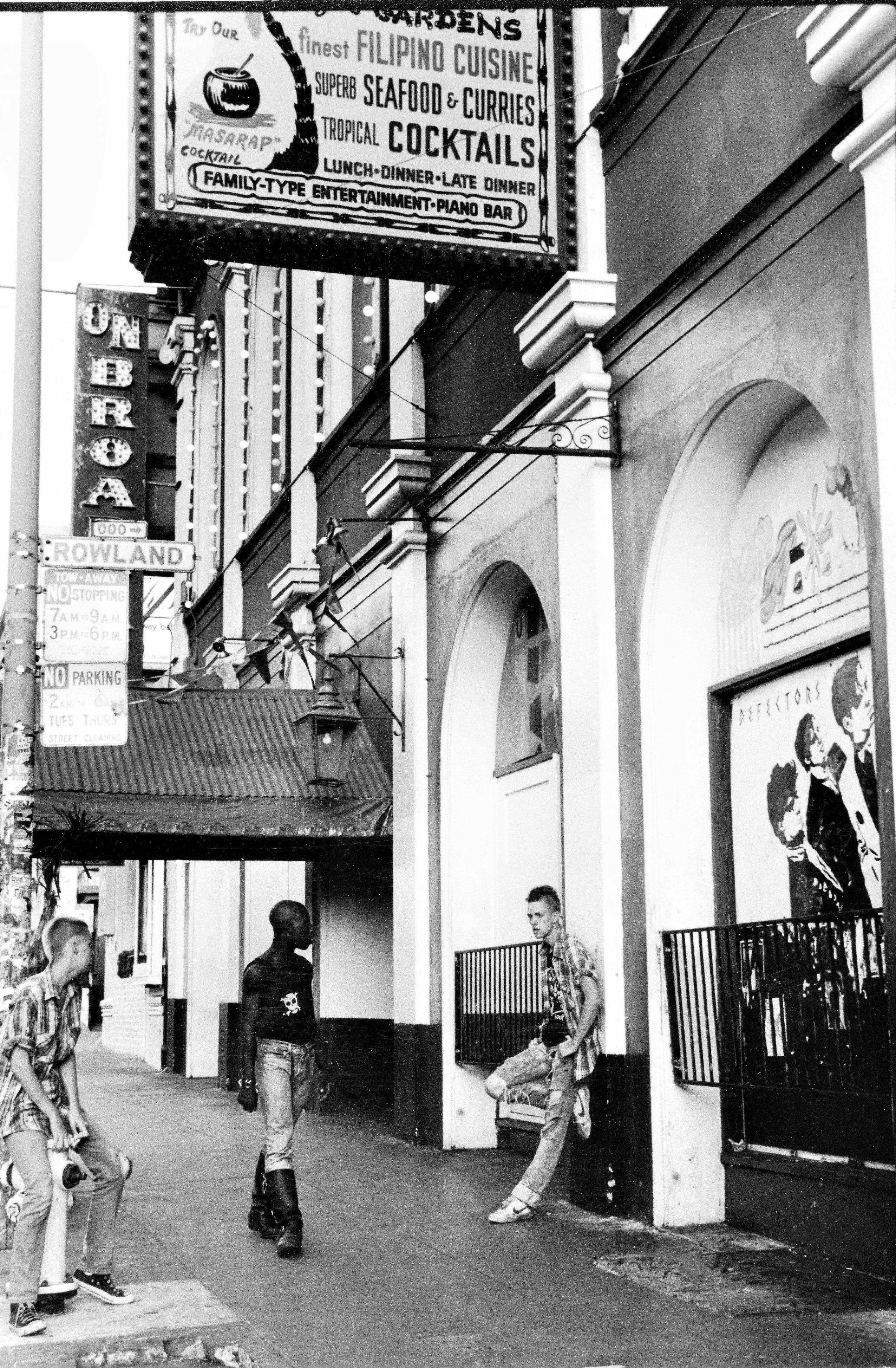 Mabuhay Gardens 443 Broadway San Francisco Photo Bobby Castro ...
