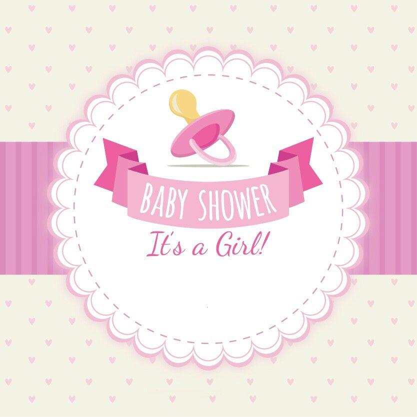 Etiqueta Baby Shower Logo Pinterest Manualidades