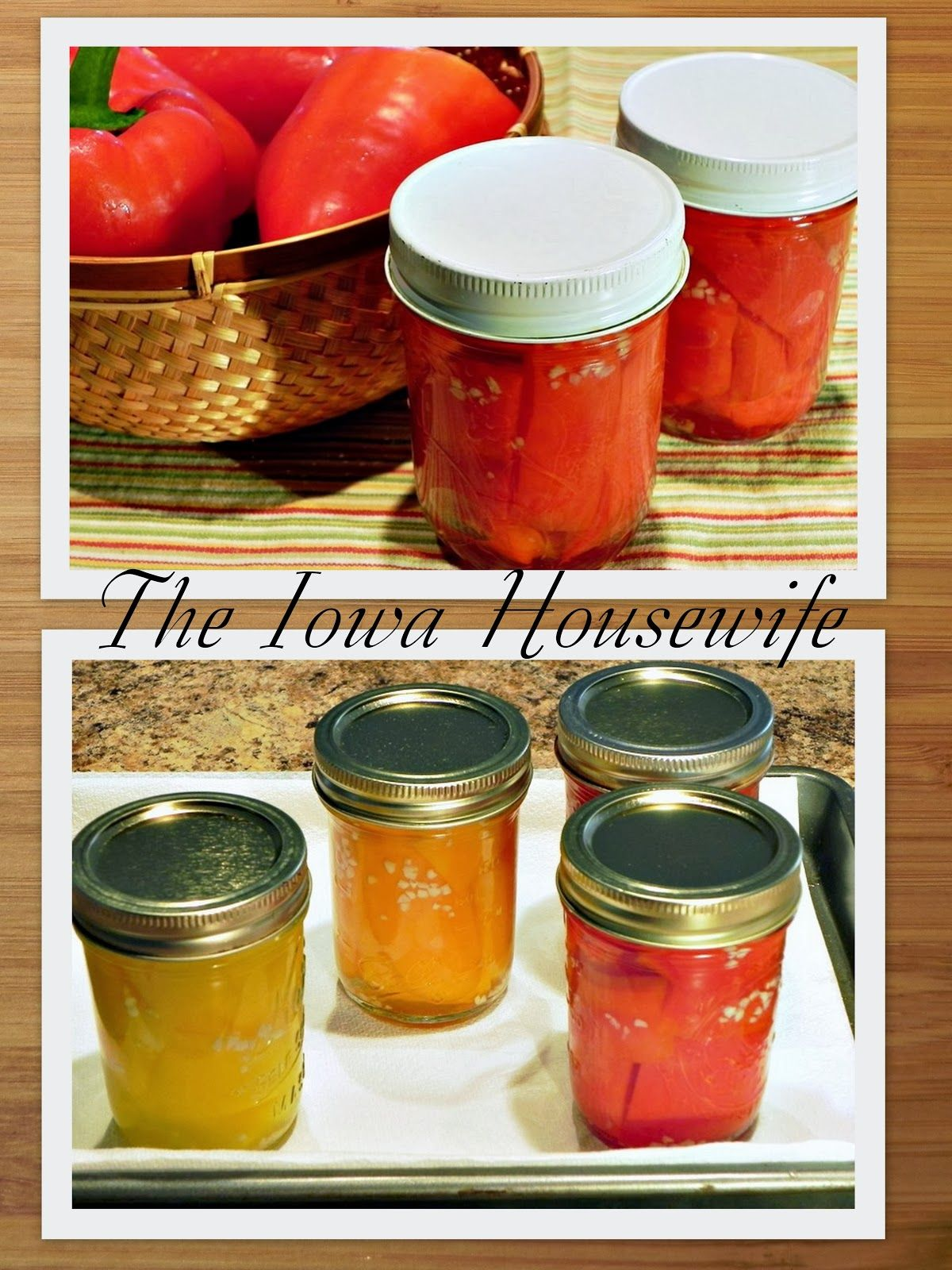 The Iowa Housewife: Pickles and Relishes