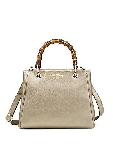 12e731db5adc2b Gucci - Bamboo Shopper Small Tote - Saks.com | Fall 2014 | Gucci ...